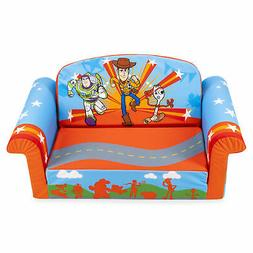 Marshmallow Furniture 2-in-1 Flip Open Couch Bed Toddler Fur