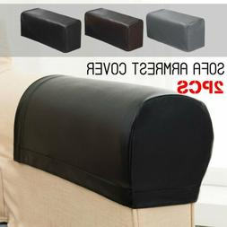 2pc/set PU Leather Sofa Armrest Covers For Couch Chair Arm P