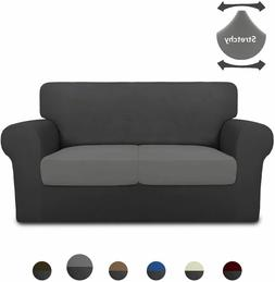 3 Pieces Super Stretch Chair Couch Cover Loveseat sofa prote
