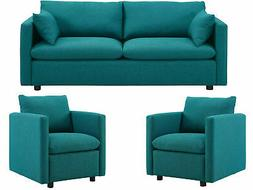 Modway Activate Contemporary Modern Fabric Upholstered Apart