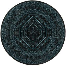 Safavieh Adirondack Collection ADR108K Black and Teal Orient