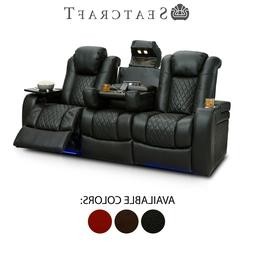 anthem leather home theater seating power recline