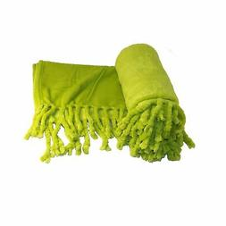 Home Soft Things Boon Rope Braided Bed Couch Throw Blankets,