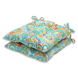 Pillow Perfect Bronwood Wrought Iron Seat Cushion
