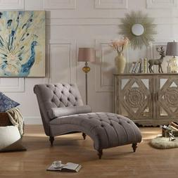 Chaise Lounge Chair Modern Sofa Couch Bedroom Living Room Tu