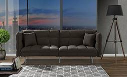Divano Roma Furniture Collection - Modern Plush Tufted Velve