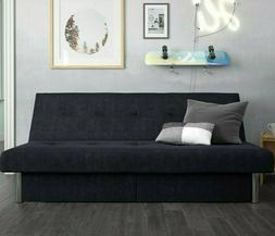 Convertible Futon Couch Sofa Bed Sleeper Microfiber Living R
