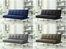 convertible sofa bed lounger futon couch sleeper