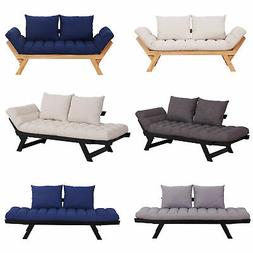 Convertible Sofa Bed Sleeper Couch Chaise Lounge Chair Adjus