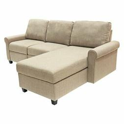 Serta Copenhagen Reclining Sectional with Storage Chaise