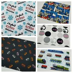 Cotton Fabric Scraps For Quilting Or Masks