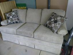 Couch - Cream, excellent condition. 6 Ft long, Almost $2000.