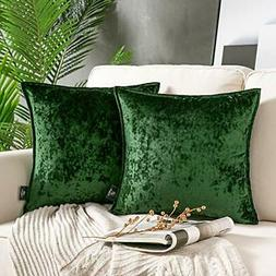 Decorative Throw Pillow Covers 18 X 18 Set of 2 for Living r