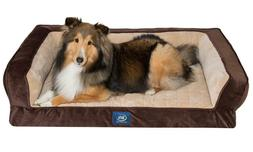 Deluxe Orthopaedic Soft Dog Pet Warm Sofa Bed Pillow Cushion