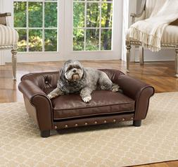 Dog Pet Brisbane Tufted Pet Bed Sofa Pet Puppy Couch Elevate