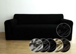 Easy Stretch Sofa Covers Seater Form Fit Couch Cover Silpcov
