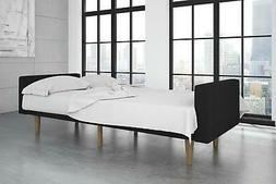 Futon Sofa Bed and Couch Sleeper with Soft Natural Microfibe