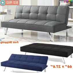 Futon Sofa Bed Sleeper Convertible Couch Tufted Foldable Twi