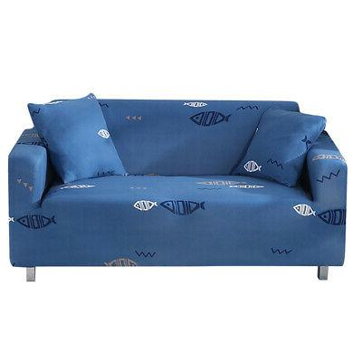1 Seater Slipcover Cover Soft Couch Protector