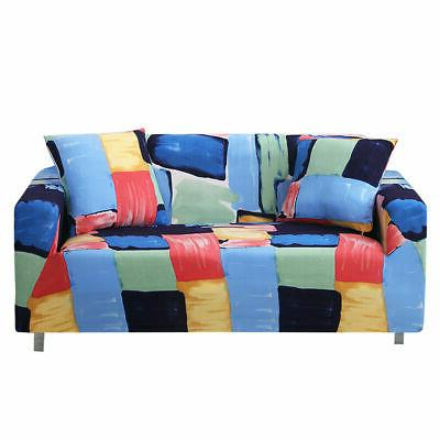 1 2 Seater Slipcover Cover Soft Elastic Couch Protector