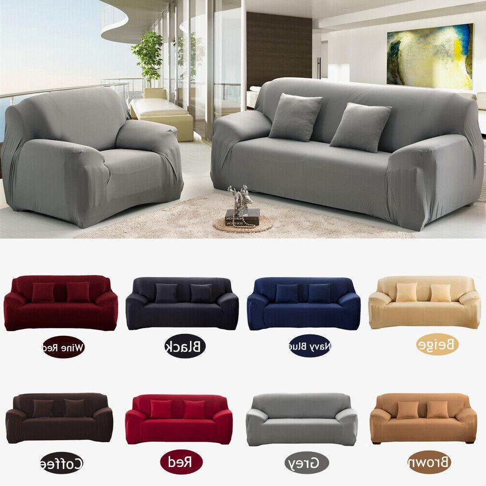 1 3 Seater Sofa Couch Elastic Wrap Slipcover