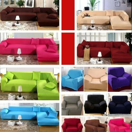 Sofa Couch Loveseat Chair Slipcover Cover Polyester Spandex