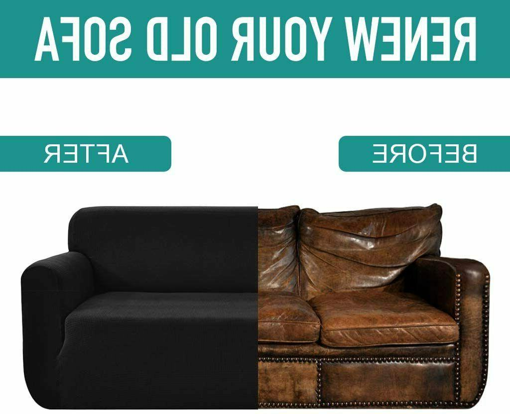 1/2/3 Loveseat Stretch Couch Protector