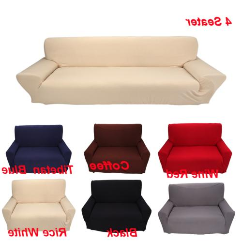 1/2/3/4 Seater Stretch Fabric Couch