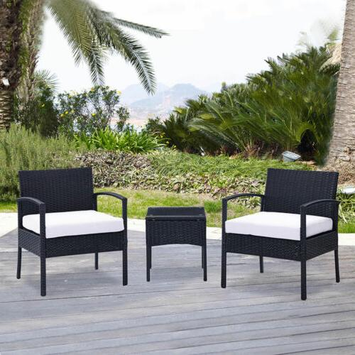 Set Sectional Couch Furniture Patio