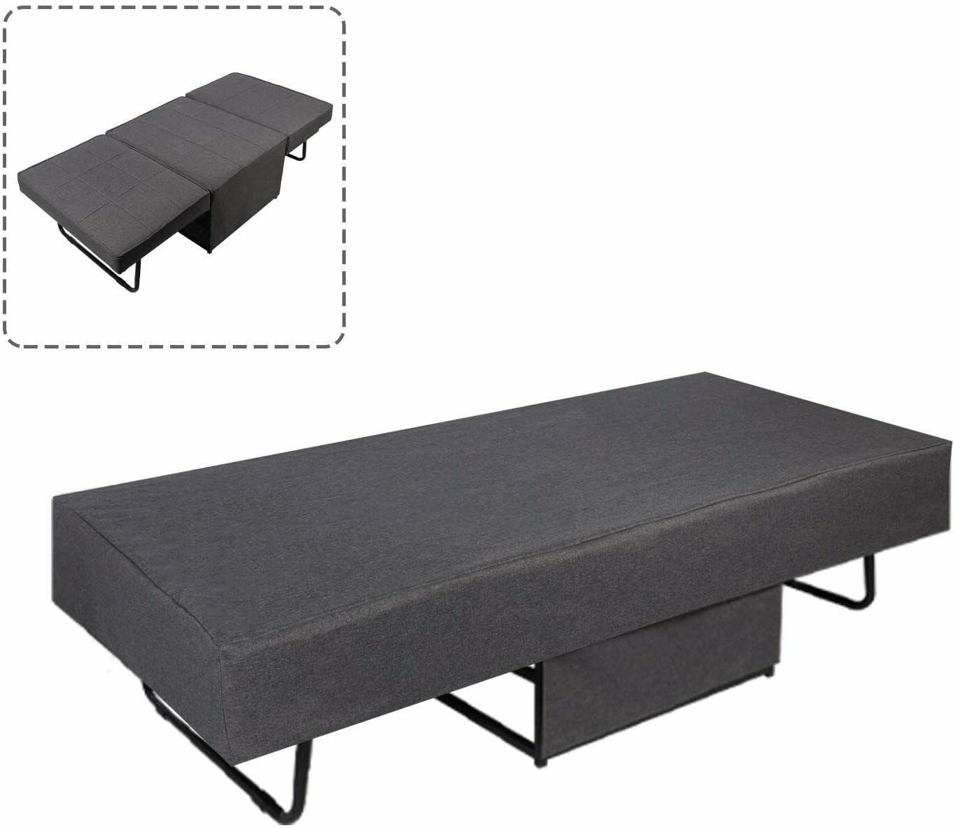 Sleeper Pull Out Lounger Ottoman