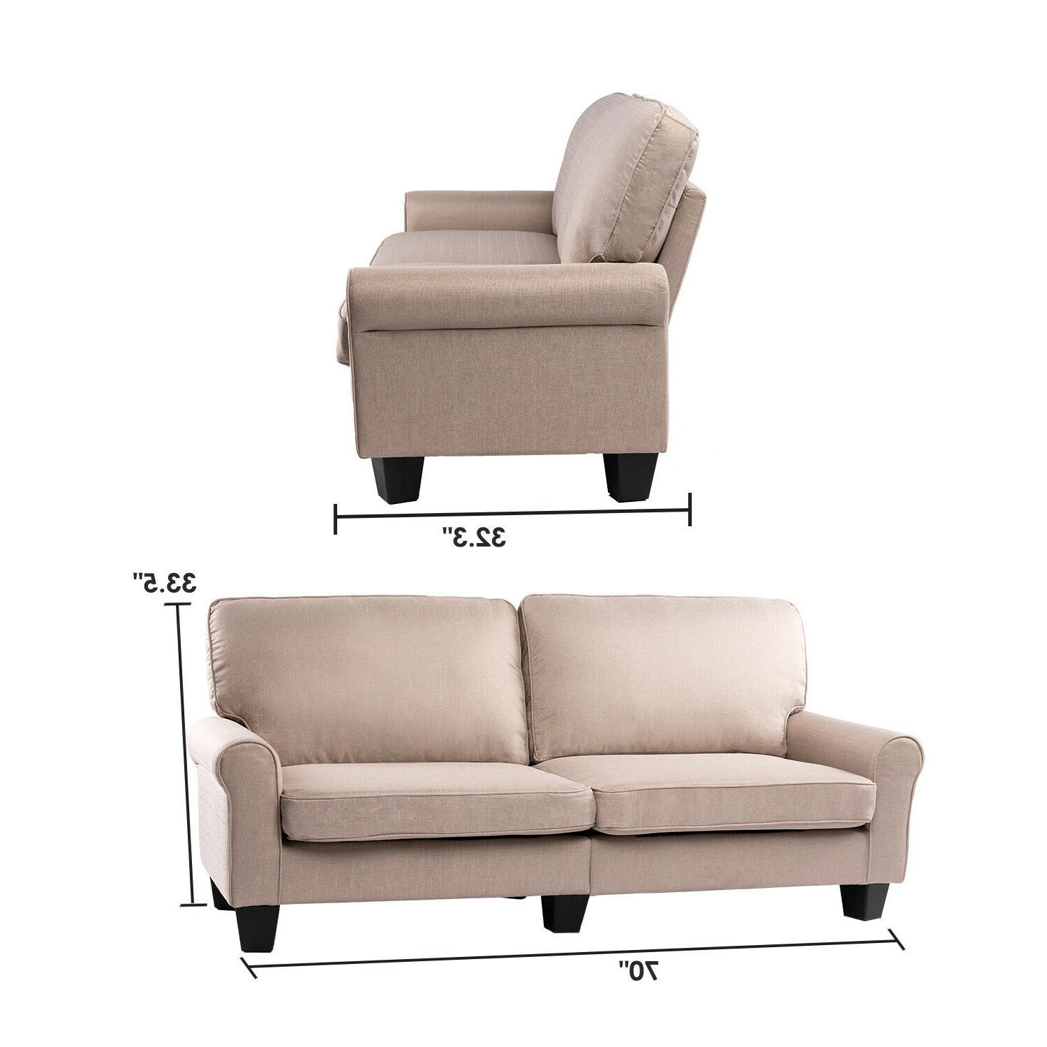 BAHOM Loveseat Sofa, Sofa Bed for Room, Bedroom