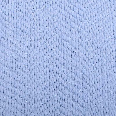 Home Knitted Tweed Throw Cover 60, Silver