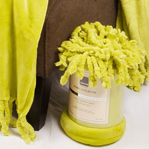 """Home Soft Things Boon Rope Braided Throw 60"""","""