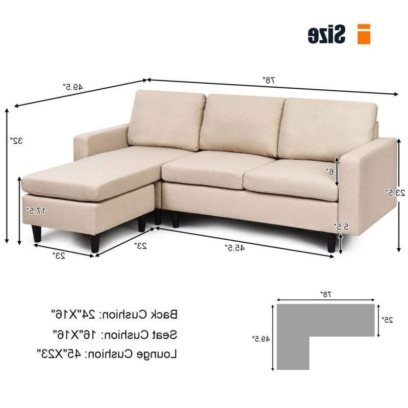 Convertible Sectional with