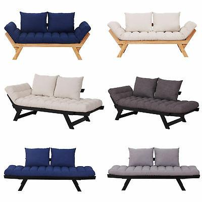 convertible sofa bed sleeper couch chaise lounge