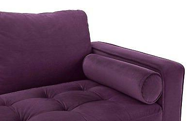 Couch Room, Tufted Fabric w/ Tufted Purple