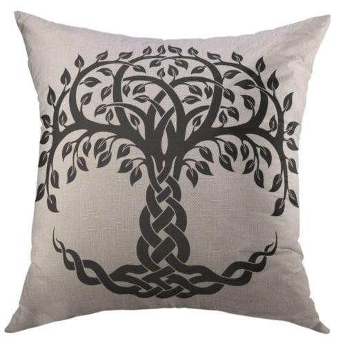 decorative throw pillow cover couch sofa black