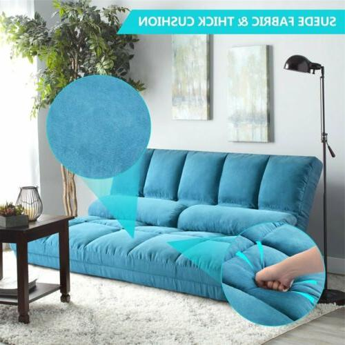 Fabric Floor Daybed Bed Floor Reclining Couch US