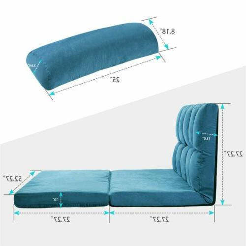 Fabric Daybed Bed Floor Furniture US