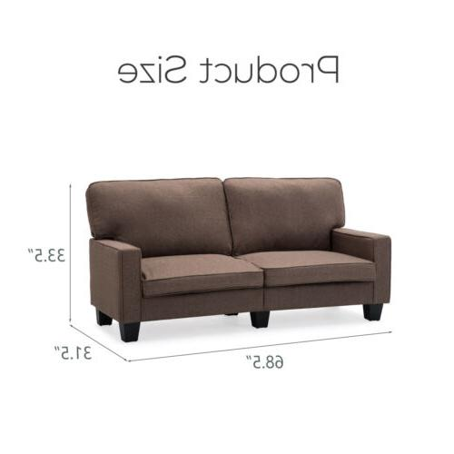 Fabric Couch Upholstered Living