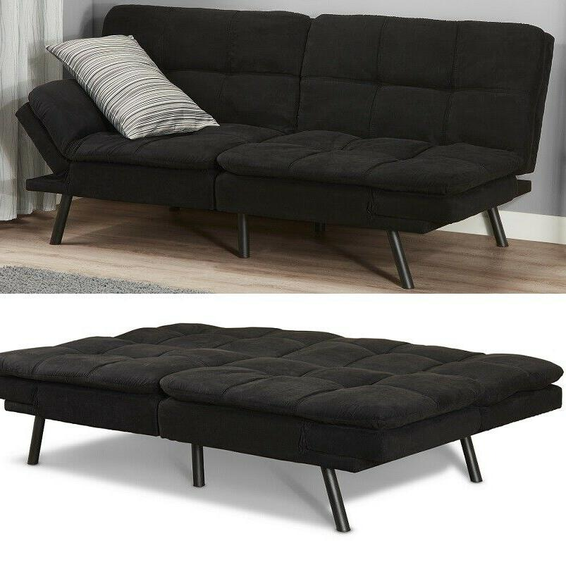 foam futon sleeper sofa bed couch convertible