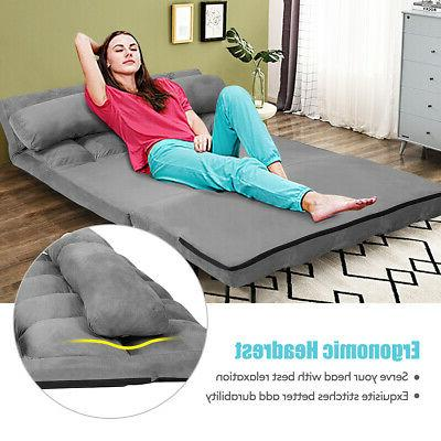Foldable Floor 6-Position Adjustable with 2