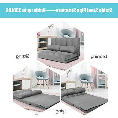 Foldable Sofa 6-Position with 2