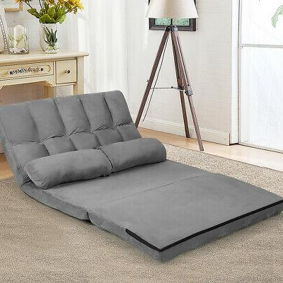 Foldable 6-Position Couch