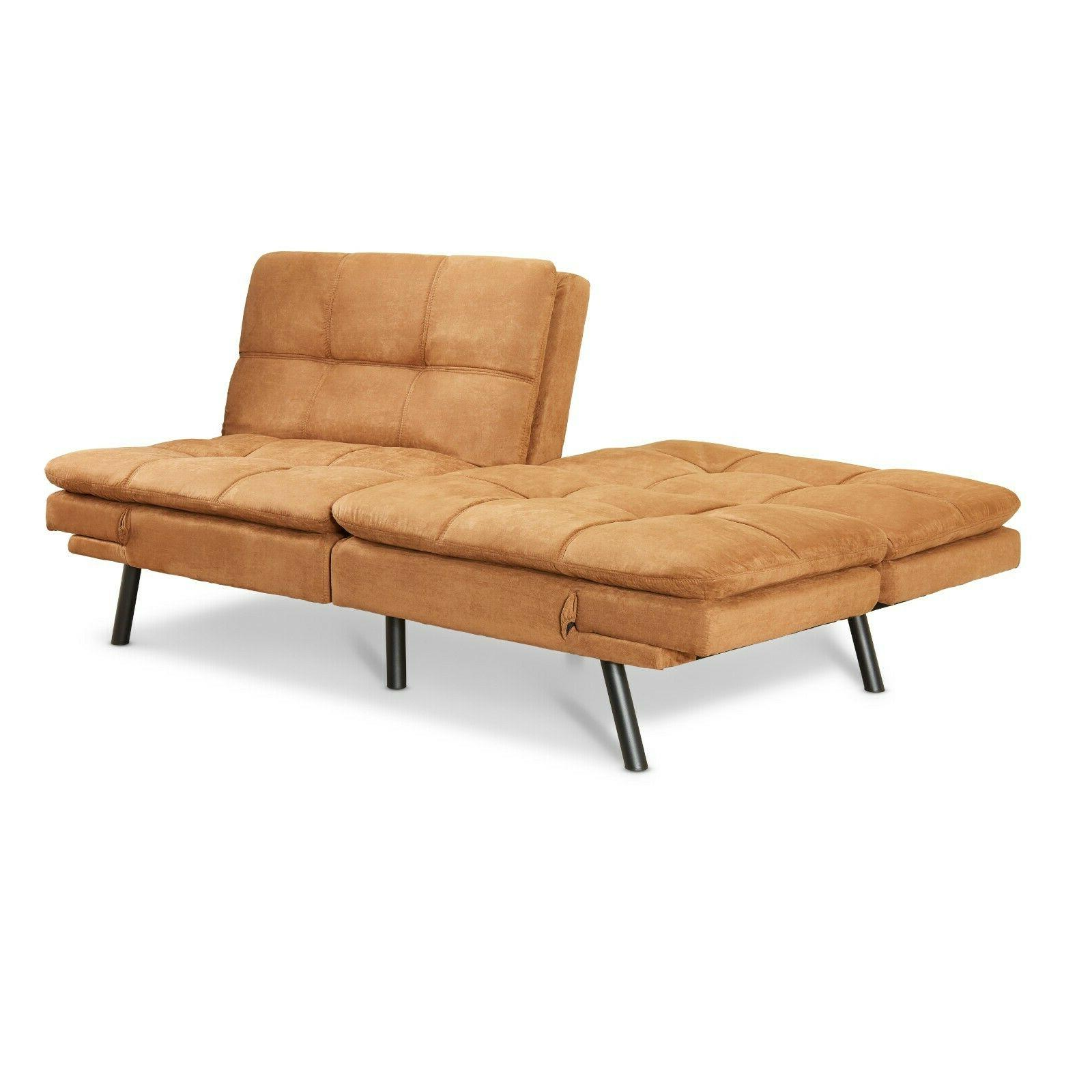 FULL Size Memory Foam Futon Sofa Bed Couch