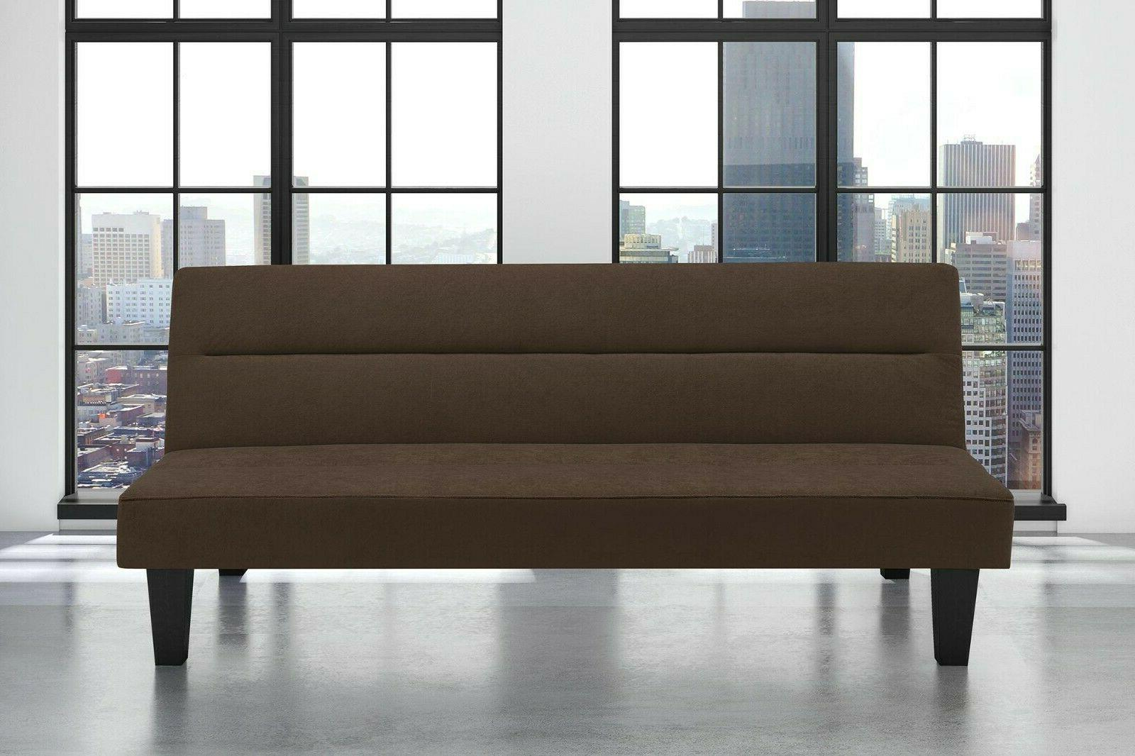 Futon Microfiber Cover Low Guests NEW