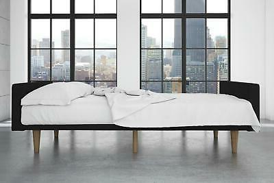 Futon Bed and Couch Sleeper with Soft Natural Piece Sheet