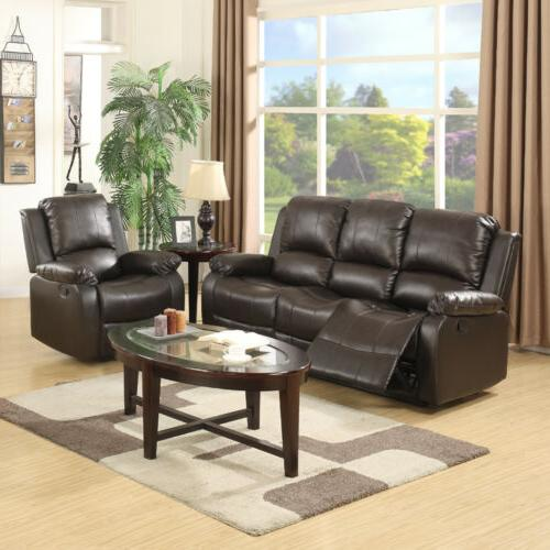 3+2+1 Set Couch Leather Room Furniture