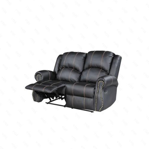3+2+1 Sofa Couch Room Furniture Black