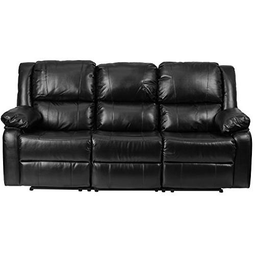 Flash Harmony Series Black Leather with Two Built-In